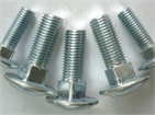 Carriage Bolt / Round head square neck bolts (ASME/ANSI B 18.5, ISO 8677, DIN 603)